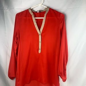Willi smith long sleeve blouse